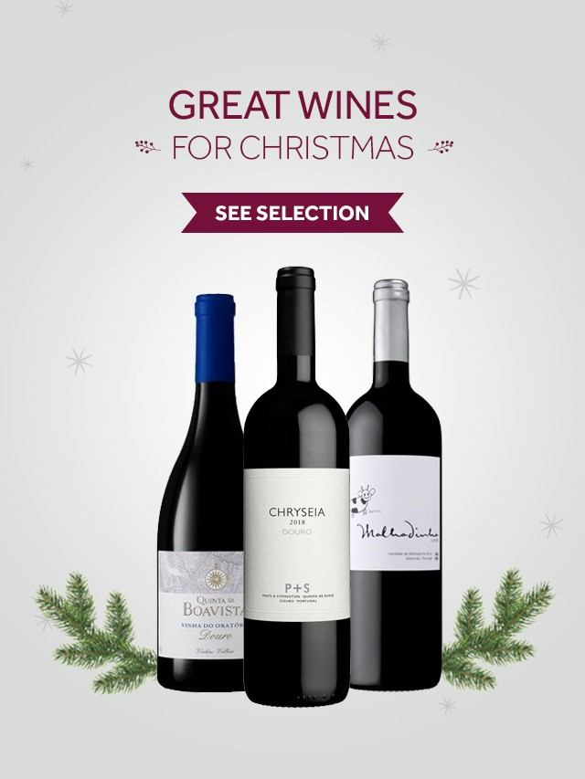 great Christmas wines Garrafeira Soares