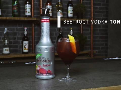 Beetroot Vodka Tonic