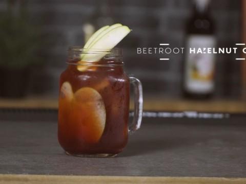 Beetroot Hazelnut Cider