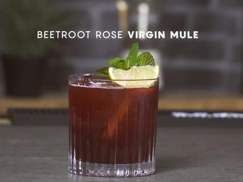 Beetroot Rose Virgin Mule