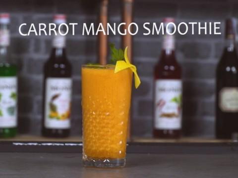 Carrot Mango Smoothie