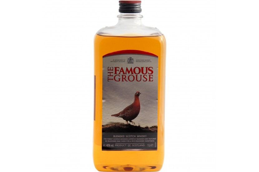 Whisky Famous Grouse 1 L Pet