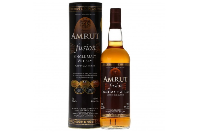 Whisky Indian Amrut Fusion 70 Cl