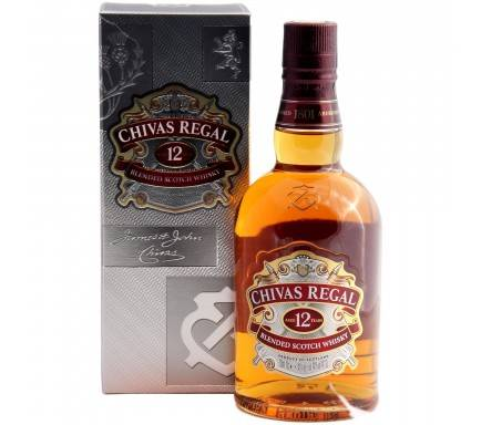 WHISKY CHIVAS REGAL 12 ANOS 70 CL