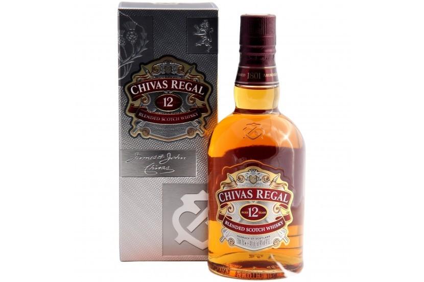 Whisky Chivas Regal 12 Anos 70 Cl