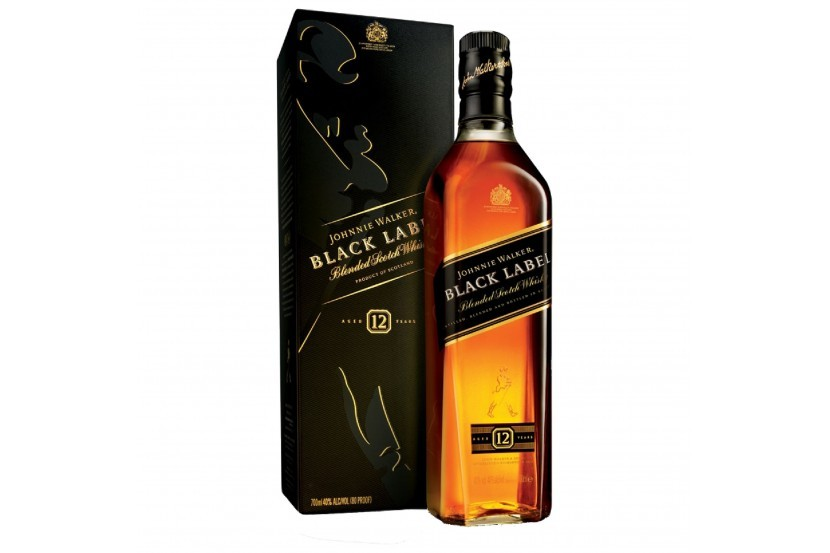 Whisky Johnnie Walker Black 70 Cl
