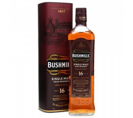 Whisky Malt Bushmill's 16 Years 70 Cl