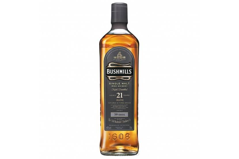Whisky Malt Bushmill's 21 Anos 70 Cl
