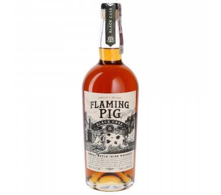 Whisky Flaming Pig Black Cask 70 Cl