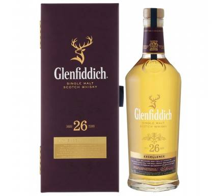 Whisky Malt Glenfiddich 26 Years 70 Cl