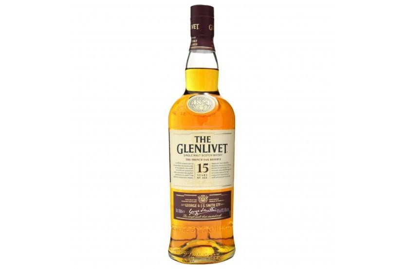Whisky Malt Glenlivet 15 Anos 70 Cl