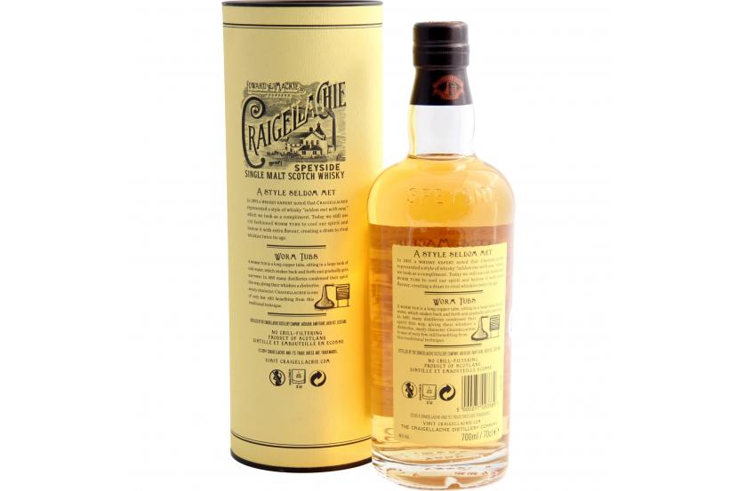 Whisky Malt Craigellachie 13 Anos 70 Cl