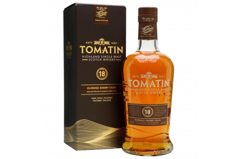 Whisky Malt Tomatin 18 Years 70 Cl