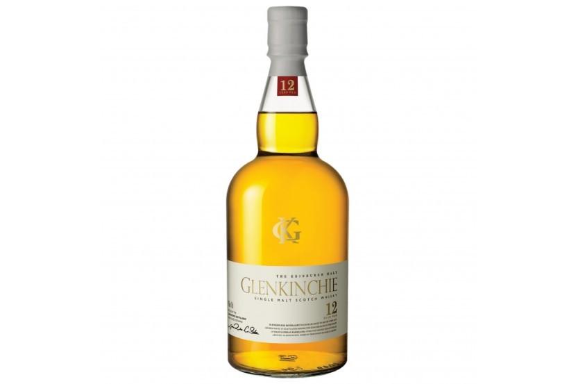 WHISKY MALT GLENKINCHIE 12 ANOS 70 CL