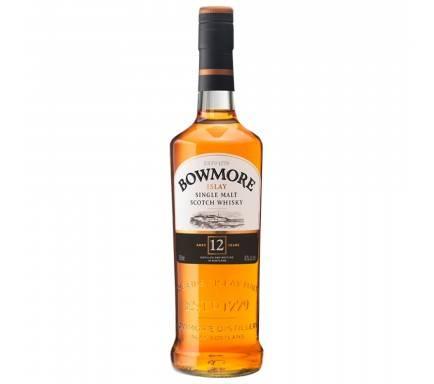 Whisky Malt Bowmore 12 Anos 70 Cl