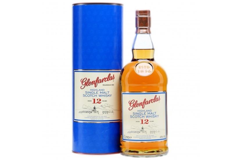 Whisky Malt Glenfarclas 12 Anos 1 L