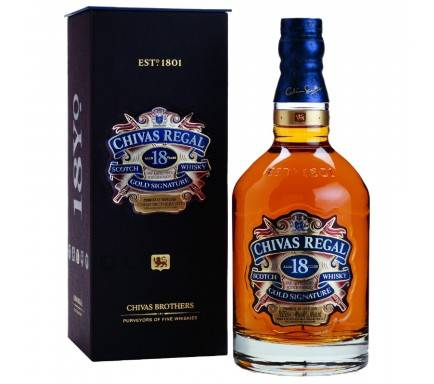 Whisky Chivas Regal 18 Anos 70 Cl
