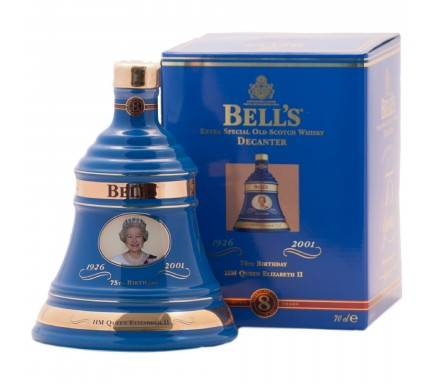 WHISKY BELL'S QUEEN 75TH BRITHDAY 70 CL