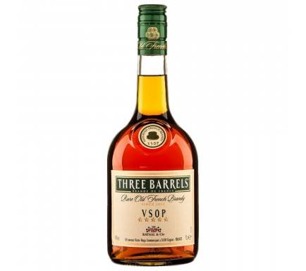 Brandy Three Barrels Vsop 70 Cl