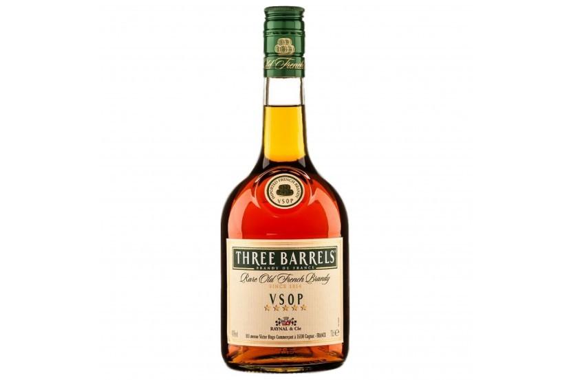 Brandy Three Barrels Vsop 70 Cl