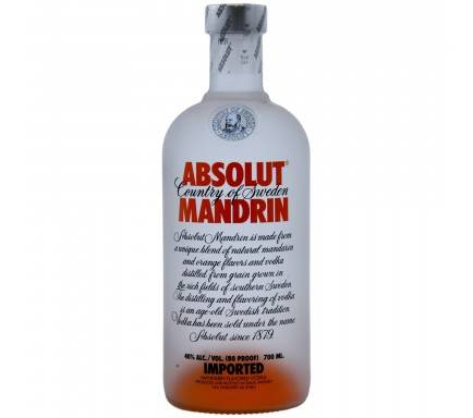 Vodka Absolut Mandrin 70 Cl