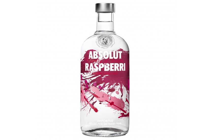Vodka Absolut Raspberry 70 Cl