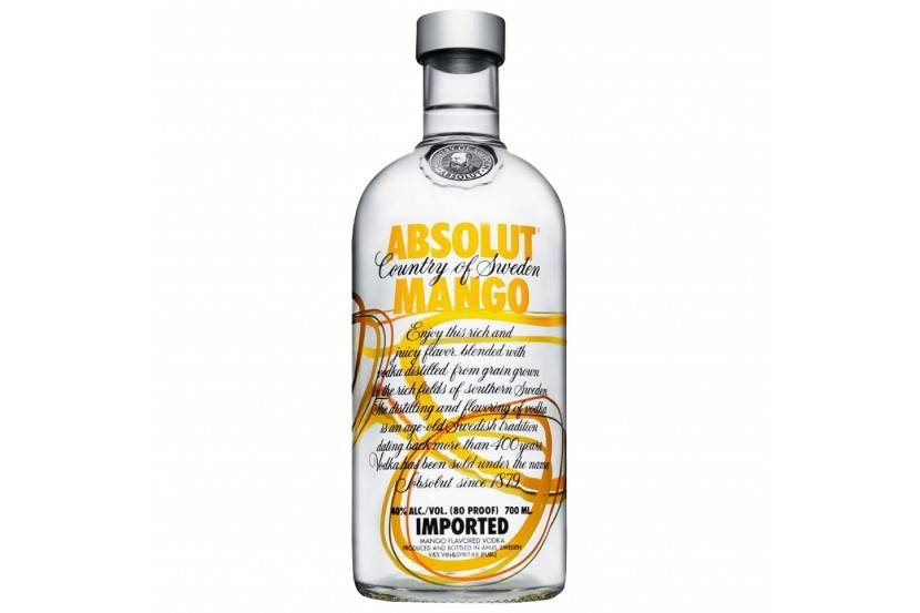 Vodka Absolut Mango 70 Cl