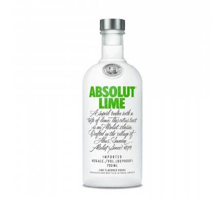 Vodka Absolut Lime 70 Cl