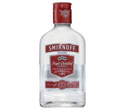 VODKA SMIRNOFF RED 20 CL
