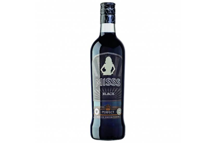 VODKA MISS BLACK 70 CL