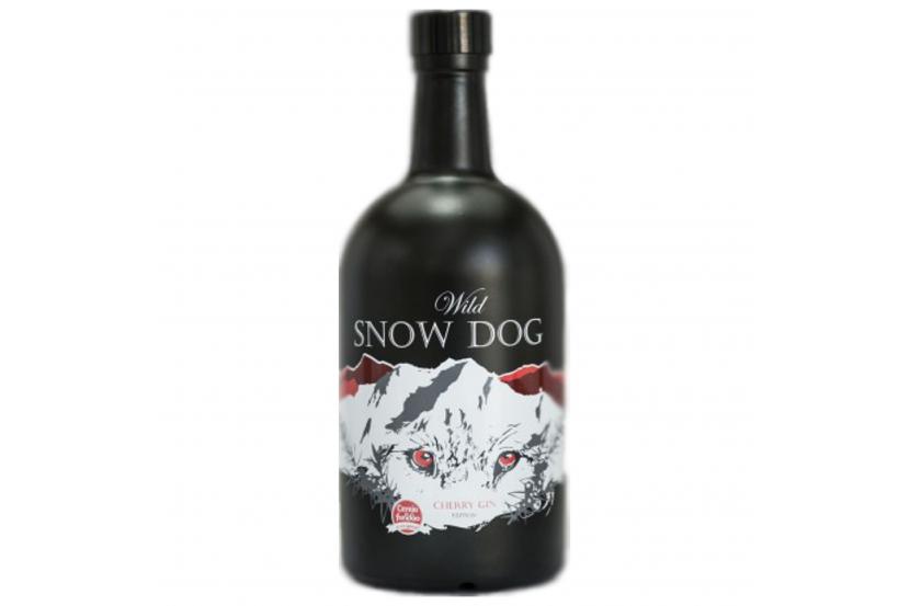 Gin Wild Snow Dog Cereja 70 Cl