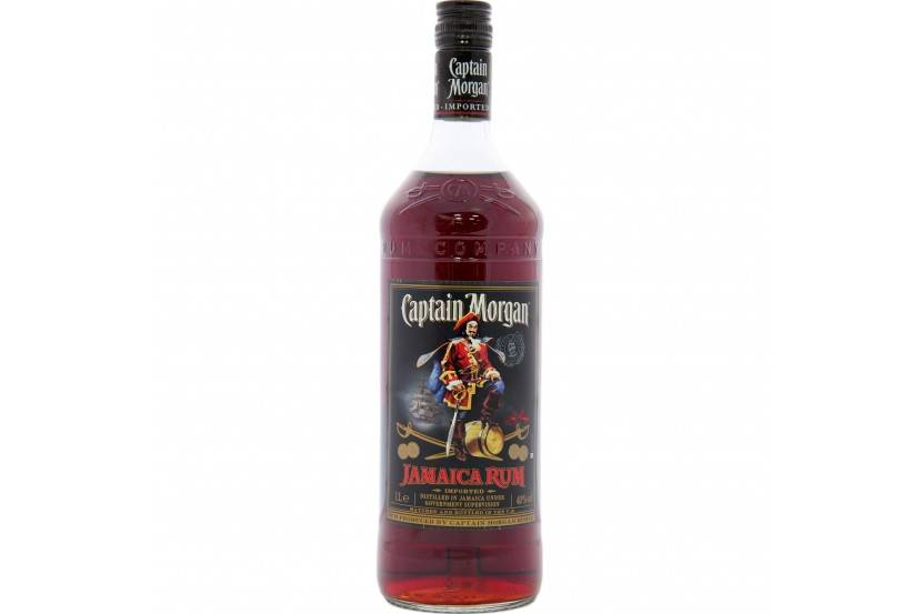 Rum Captain Morgan Black 1 L