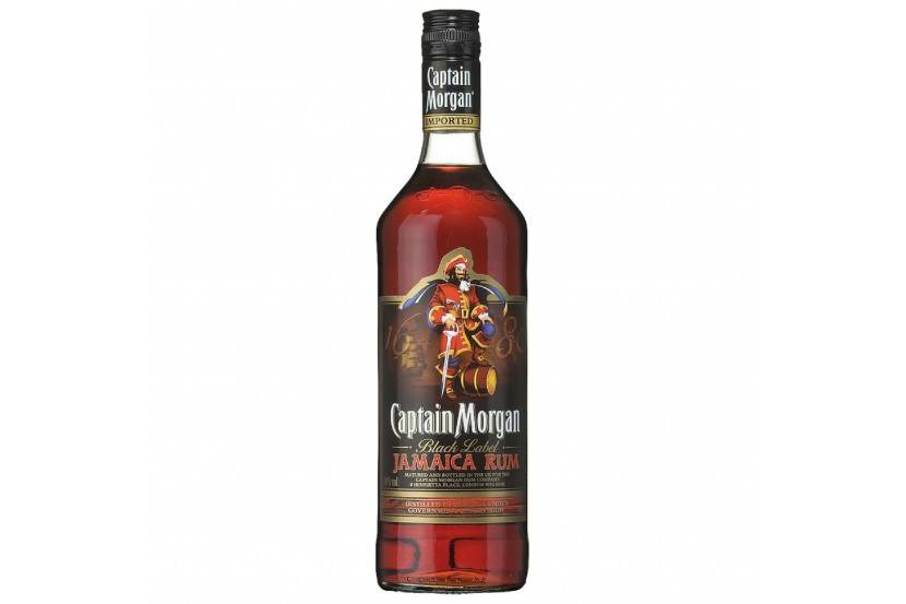 Rum Captain Morgan Black 70 Cl