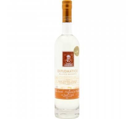 Rum Diplomatico Blanco Reserva 70 Cl