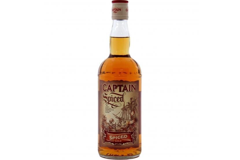 Rum Captain Spiced 70 Cl