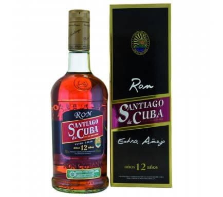 Rum Santiago De Cuba 12 Years 70 Cl
