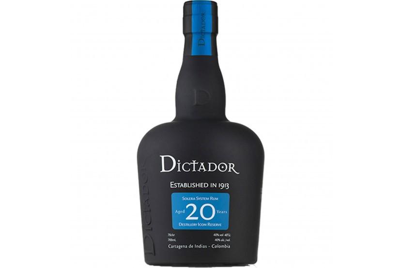 Rum Dictador 20 Anos 70 Cl