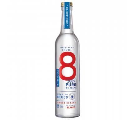 Tequila Ocho Blanco 50 Cl