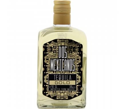 Tequila Dos Mexicanos Gold 70 Cl