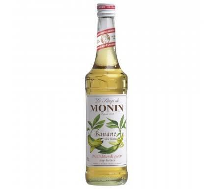 MONIN SIROP BANANA JAUNE 70 CL