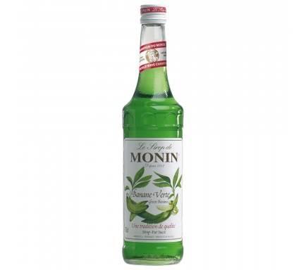 MONIN SIROP BANANA VERTE 70 CL