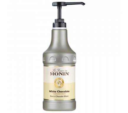 MONIN SAUCE WHITE CHOCOLATE 1.89 L