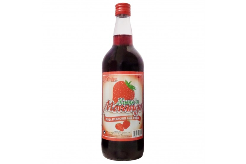 Strawberry Syrup Milbar 1 L