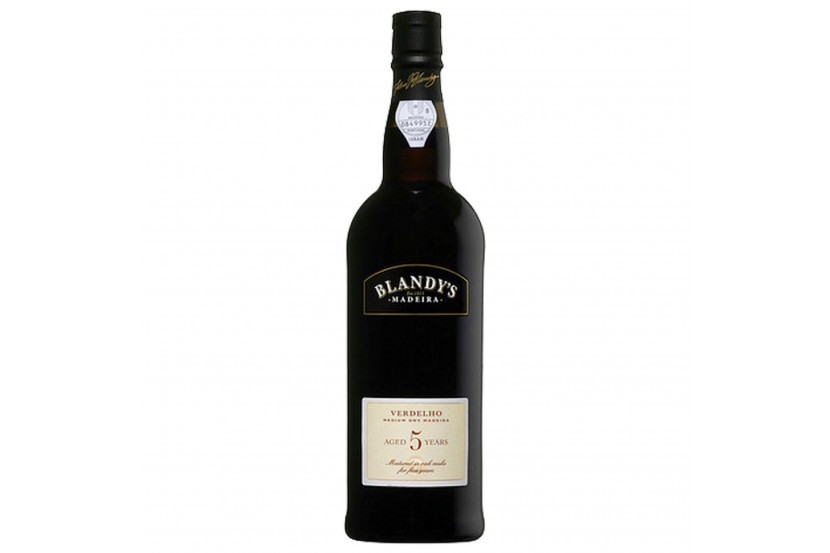 Madeira Blandy's 5 Anos Medium Rich/Bual 75 Cl