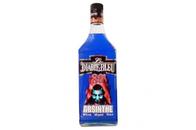 Absinto Diablo Azul (80%) 70 Cl