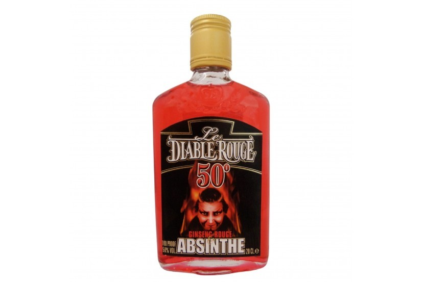 Absinto Diable Rouge (50%) 20 Cl