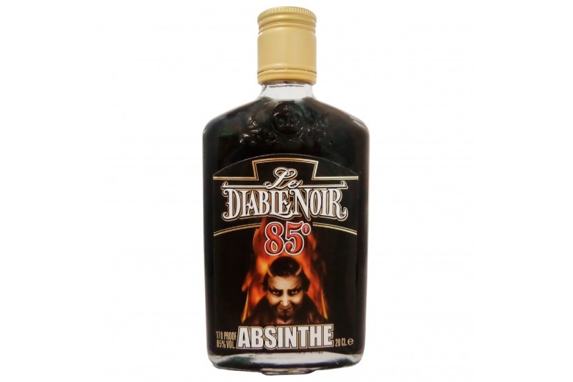 Absinthe Diablo Negro (85%) 20 Cl