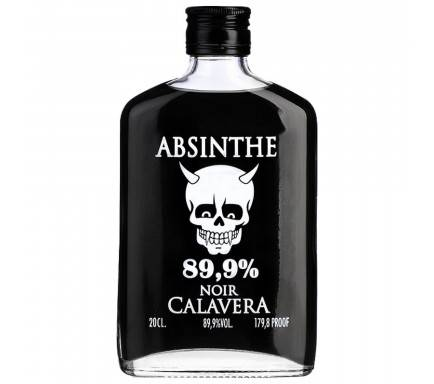 ABSINTO CALAVERA NEGRO (89.9%) 20 CL