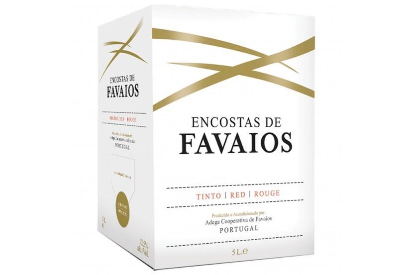 Vinho Tinto Encostas De Favaios 5 L