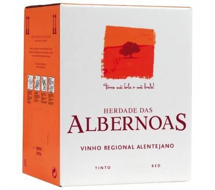"RED WINE ALBERNOAS 5 L ""BAG IN BOX"""
